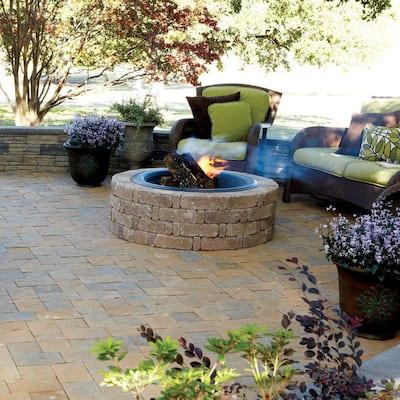 RumbleStone Trap 3.5 in. x 10.25 in. x 7 in. Cafe Concrete Garden Wall Block