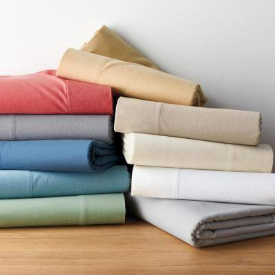 Velvet Flannel Solid Cotton Sham