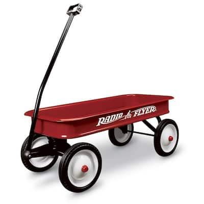 Classic Kids Toddler Original Steel Little Red Wagon