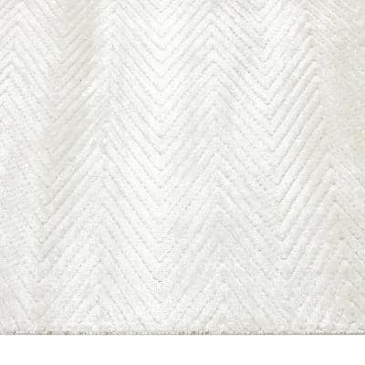 Chevelle Contemporary Modern Alabaster 10 ft. x 14 ft. Hand Loomed Area Rug