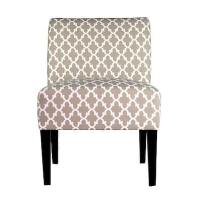 Samantha Fulton Ecru Accent Chair