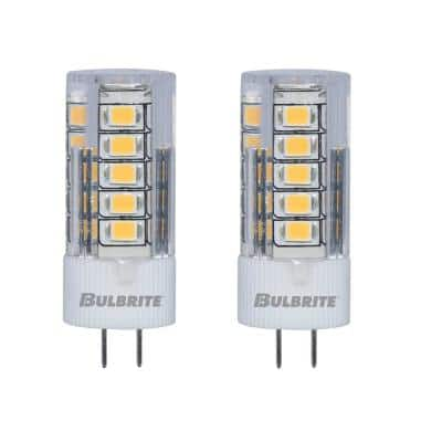 30-Watt Equivalent JC Non-Dimmable Bi-Pin (G4) LED Light Bulb Soft White Light (2-Pack)