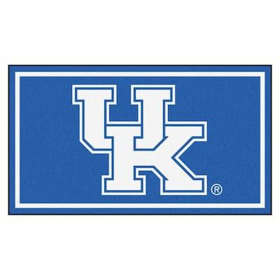NCAA University of Kentucky 3 ft. x 5 ft. Ultra Plush Area Rug