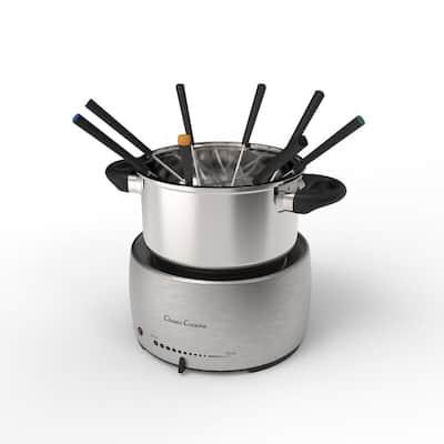 Stainless Steel Fondue Pot Set