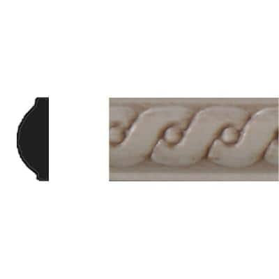 1/4 in. x 5/8 in. x 4 ft. Hardwood Wood Running Coin Strip Moulding
