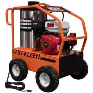 Commercial 4000 PSI 3.5 GPM Gas Driven Hot Water Pressure Washer 110/120V