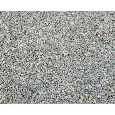 10 cu. ft. Pea Pebbles Assorted Decorative Stone - (1 Bag/10 cu. ft./Pallet)