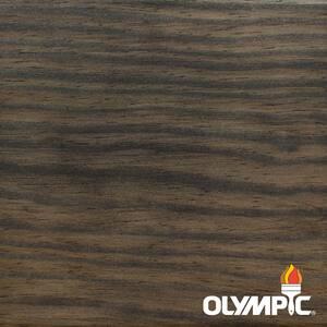 Maximum 1 Gal. Ebony Semi-Transparent Exterior Stain and Sealant in One Low VOC