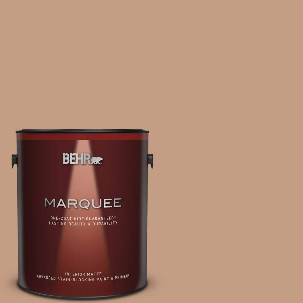 BEHR MARQUEE 1 gal. #S210-4 Canyon Dusk One-Coat Hide Matte Interior Paint & Primer