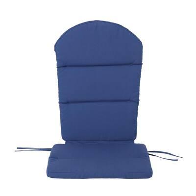 Malibu Navy Blue Outdoor Adirondack Chair Cushion