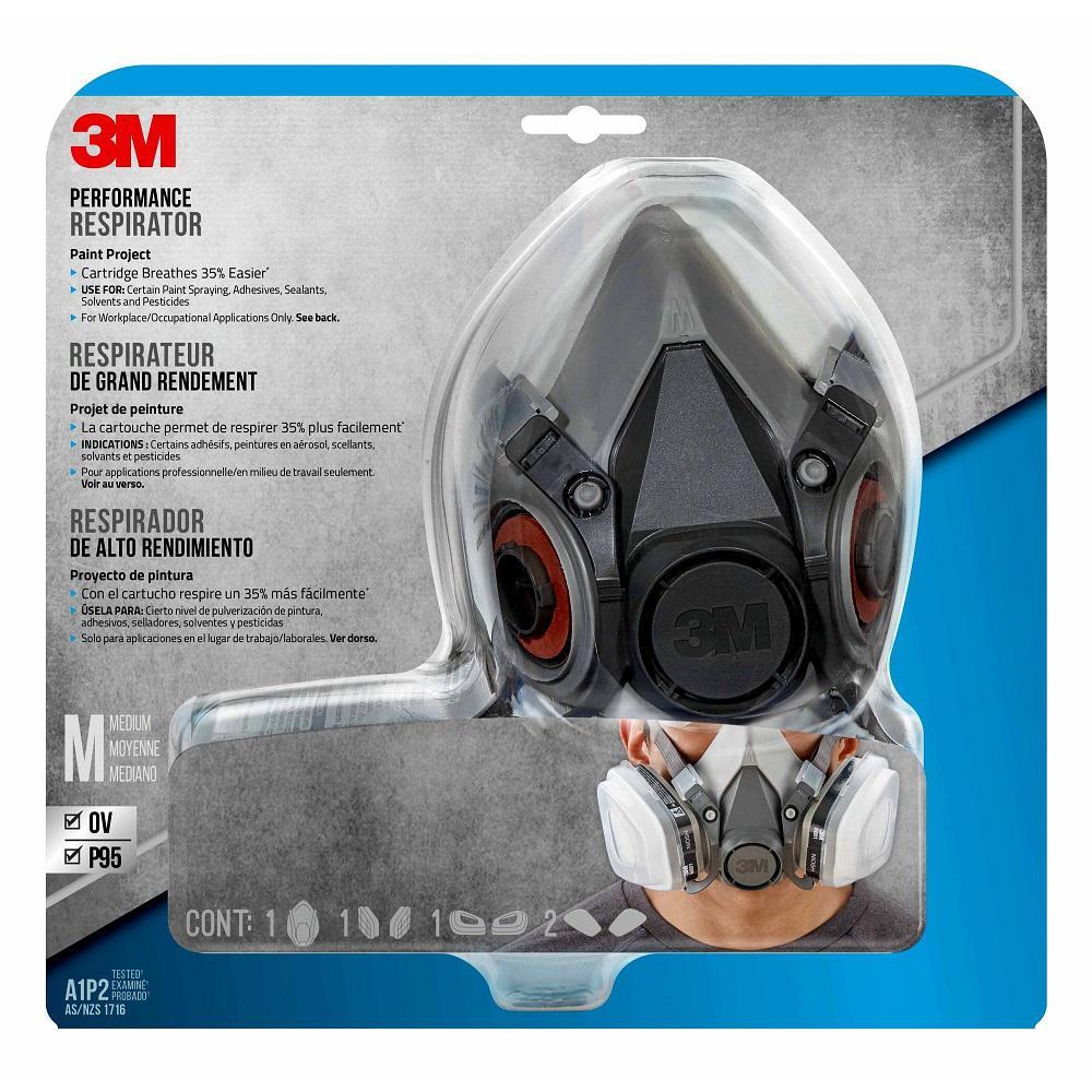 Medium Paint Project Respirator Mask