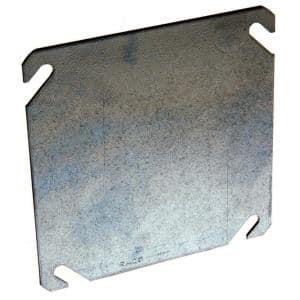 Electrical Square Flat, Blank Cover