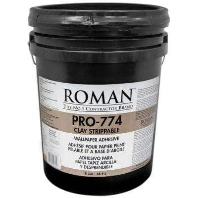 PRO-774 5 gal. Clay Strippable Wallcovering Adhesive