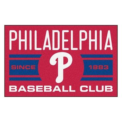 MLB Philadelphia Phillies Blue 2 ft. x 3 ft. Area Rug