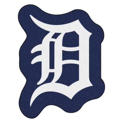 MLB - Detroit Tigers 39.3 in. x 30 in. Indoor Area Rug Mascot Mat