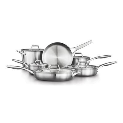 Premier 11-Piece Stainless Steel Cookware Set