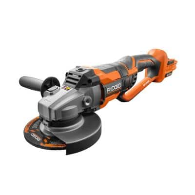 18-Volt OCTANE Cordless Brushless 7 in. Dual Angle Grinder (Tool Only)