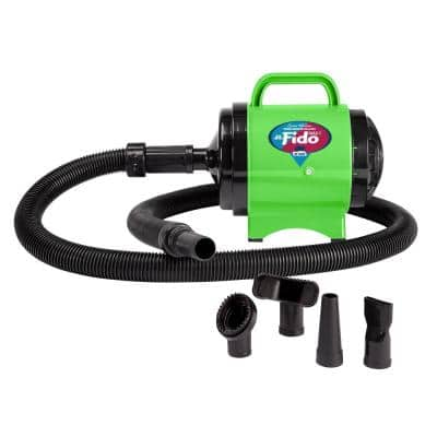 Cesar Millan Collection 2 HP Fido Max 1 Pet Grooming Dog Dryer, Lime Green