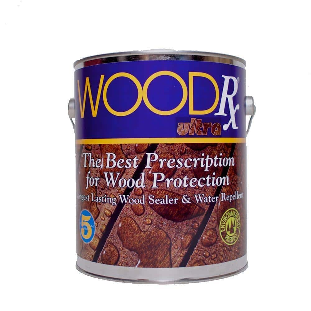 WoodRx 1 gal. Ultra Natural Transparent Wood Exterior Stain and Sealer