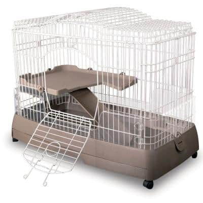 Clean Living 2.0 Small Animal Cage - 35.5 in x 19 in. x 27.5 in.