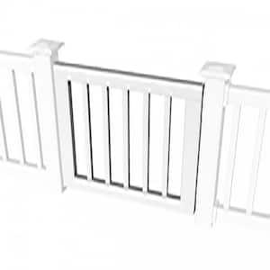 3 ft. Standard Gate Kit for Square Baluster Original Rail, Deck Rail, Porch Rail or Titan XL