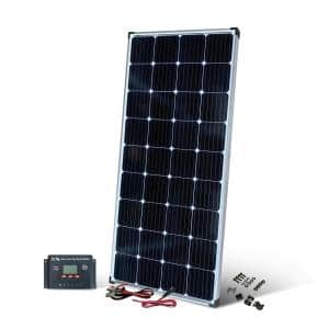 200-Watt Monocrystalline Solar Panel with 13 Amp Charge Controller