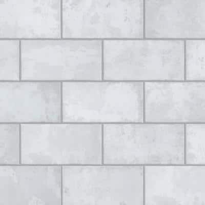Biarritz White 3 in. x 6 in. Ceramic Wall Tile (6.04 sq. ft./ Case)