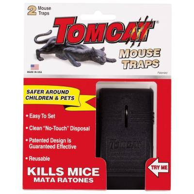 Mouse Snap Traps (2-Pack)
