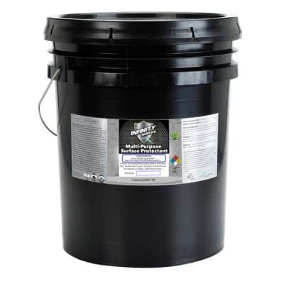 5 Gal. Concentrated Peppermint Multi-Purpose Surface Protectant Stain Blocker Odor-Smoke Eliminator Repellent Sealant