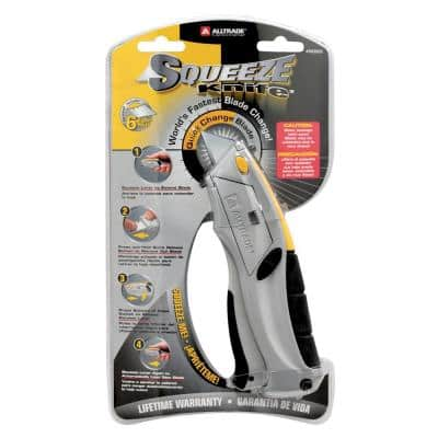 Squeeze Auto-Loading Utility Knife