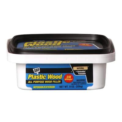 Plastic Wood 8 oz. Natural Latex Wood Filler