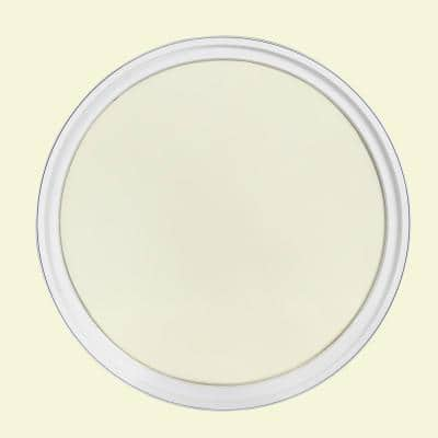 24 in. x 24 in. Round White 4-9/16 in. Jamb Geometric Aluminum Clad Wood Window