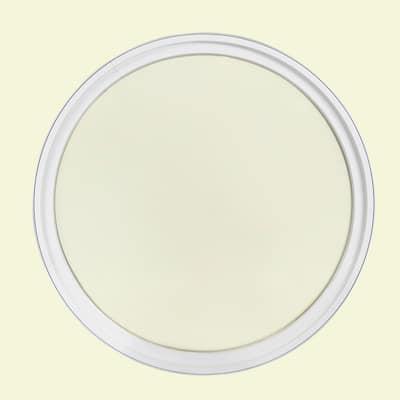 48 in. x 48 in. Round White 4-9/16 in. Jamb Geometric Aluminum Clad Wood Window