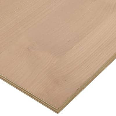 3/4 in. x 2 ft. x 8 ft. PureBond Alder Plywood Project Panel (Free Custom Cut Available)