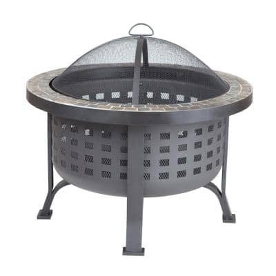 Wheels Fire Pits Outdoor Heating The Home Depot