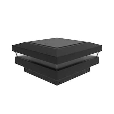 VersaRail 2.5 in. Matte Black Aluminum Rail Solar Post Top