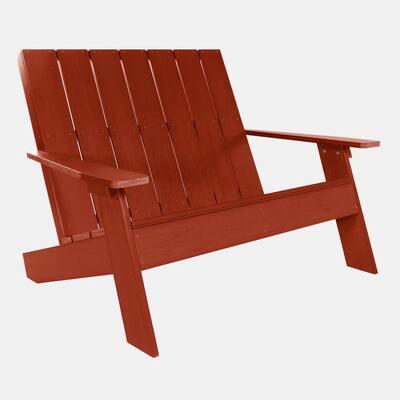 Italica Double Wide Modern Plastic Adirondack Chair