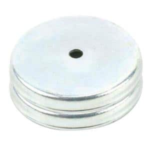 10 lb. Round Base Pull Latch Magnets (2-Piece per Pack)