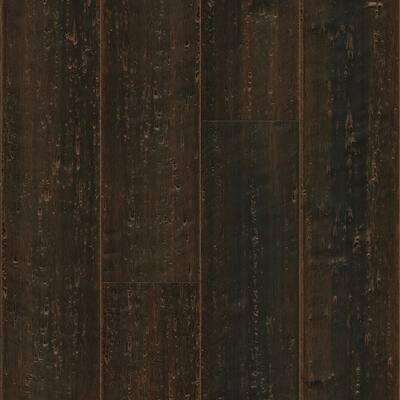 Vintage Port 14mm T x 5.37 in. W x 72in Solid Wide T and G Bamboo Flooring (26.89 sq. ft/case)