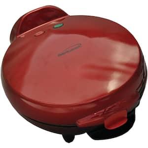 900 W RED 8'' Nonstick Quesadilla Maker