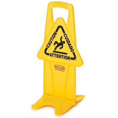 25 in. x 13 in. Wet Floor Caution Sign