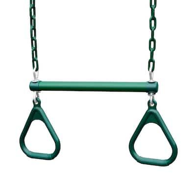 Heavy-Duty Ring/Trapeze Combination Swing