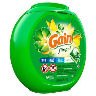 Flings Original Scent Laundry Detergent (81-Count)