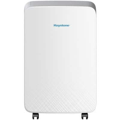 12,000 BTU 6,500 BTU (DOE) M Series Portable Air Conditioner for Rooms up to 180 sq. ft. in White