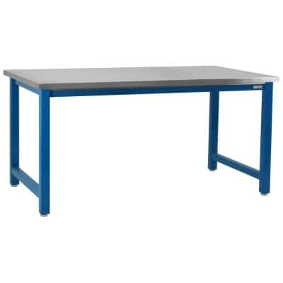 Kennedy Series 30 in. H x 96 in. W x 30 in. D, Stainless Steel Top, 6,600 lbs. Capacity Workbench