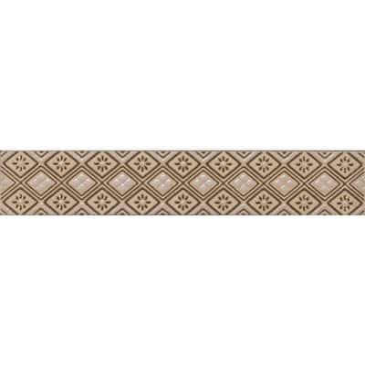 Favrales Beige 1.75 in. x 10 in. Ceramic Wall Listello Tile (20 Listellos / case)