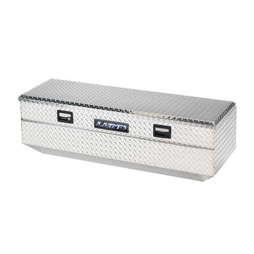 48 in Aluminum Storage Box, Silver