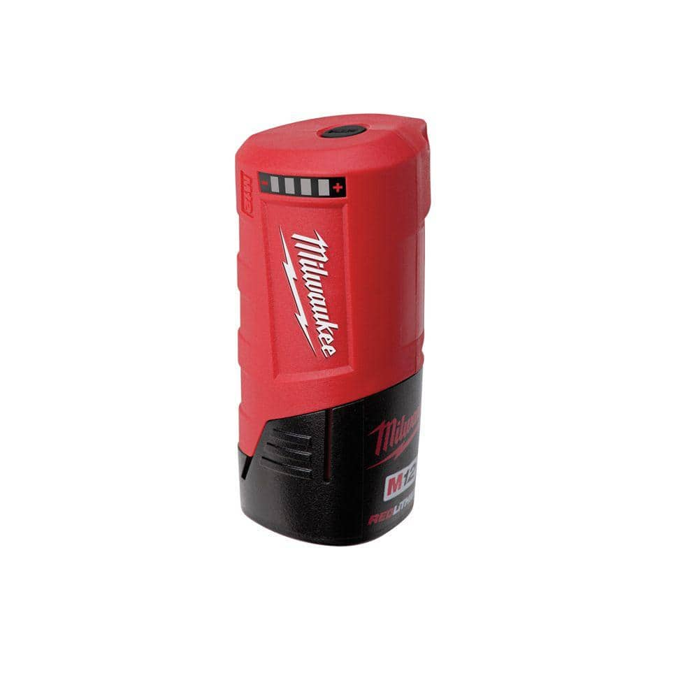 N12 M12 charger portable power USB converter for Milwaukee 12V battery