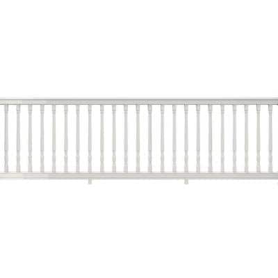Bella Premier Series 10 ft. x 36 in. White PolyComposite Rail Kit with Colonial Balusters