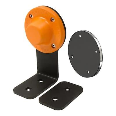 Magnetic Door Holder Stop Floor Mount (1-Magnet)